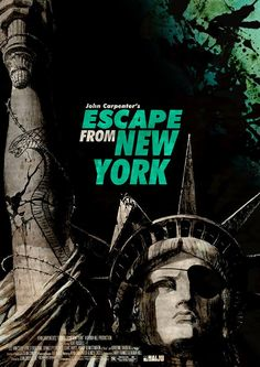 Carpenter's Escape from New York poster, revisited by my talented friend Gregory Sacre.