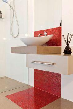El color rojo en decoración