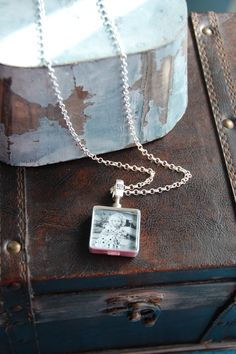 The Long Rolo Chain is one of my favorites with a Journey Locket on it.