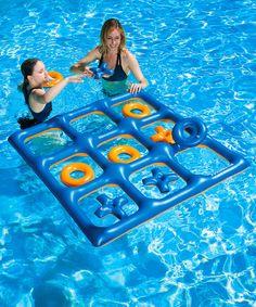 Look at this Poolmaster Tic-Tac-Toe Pool & Lawn Game on today! Look at this Poolmaster Tic-Tac-Toe Pool & Lawn Game on today! Summer Pool, Summer Kids, Pool Fun, Swimming Pool Designs, Swimming Pools, Teen Pool Parties, Piscine Diy, Pool Party Games, Cool Pool Floats