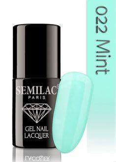 Semilac 022 Mint UV&LED Nagellack. Auch ohne Nagelstudio bis zu 3 WOCHEN perfekte Nägel!