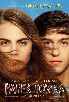 The first movie poster for John Green's PAPER TOWNS is here!