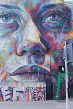 street art à Nancy, portrait fait par David Walker