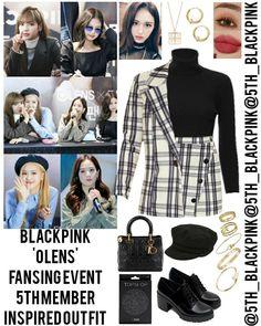 Credits to:(Go Visit) Korean Outfits Kpop, Kpop Fashion Outfits, Fashion Idol, Blackpink Fashion, Stage Outfits, Edgy Outfits, Dance Outfits, Classy Outfits, Girl Outfits