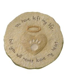 Love this Paw Print Stepping Stone by Grasslands Road on #zulily! #zulilyfinds