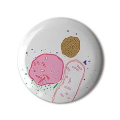 ❤️ #BBOTD Stereohype #button #badge of the day by Jean-Claude Chianale https://www.stereohype.com/540__jean-claude-chianale #microscope 😷🏥🔬