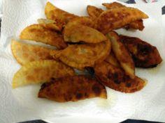 Empanadillas rellenas de soja texturixada pimiento y tofu