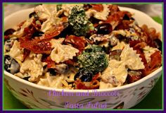 Sweet Tea and Cornbread: Chicken and Broccoli Pasta Salad!