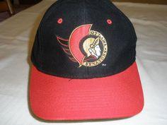 b663fce463858 Extra Off Coupon So Cheap Vintage Ottawa Senators Black Red Hat NHL  Snapback Baseball Trucker Hip Hop