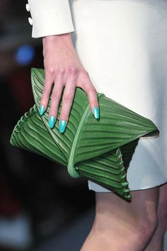 Would you rock a banana leaf purse?