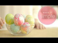 Wow, oeufs de Pâques avec vernis à ongles