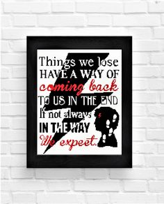 "BOGO FREE!Harry Potter Cross Stitch Pattern/Quote ""Things we lose have a way of coming back to us in the end""/kids/Instant download pdf/A66 by Embroidery4kidsArt on Etsy"