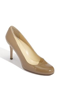 kate spade new york karolina pump in camel. Love the dark richness of the color.