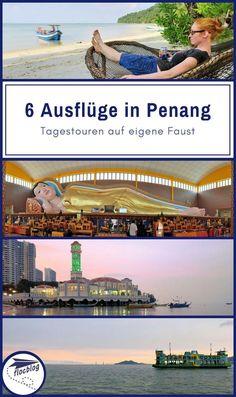 Penang ist eine große Insel mit vielen Überraschungen. Erkunde die Altstadt von Georgetown und mache einige dieser 6 lohnenswerten Ausflüge. #Penang #Malaysia #Georgetown #Reisetipps #Südostasien #Reise #Rucksackreise #backpacking #Insel #Strand #Altstadt