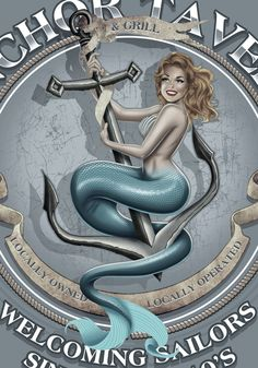 MERMAID ANCHOR by BROWN73