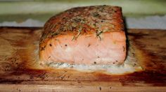https://flic.kr/p/LhDoTo | Trader Joe's Seasoned King Salmon on a Cedar Plank…