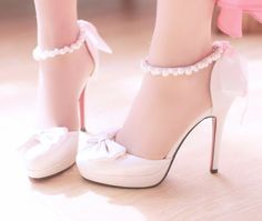 Pink shoes girly