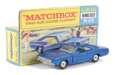 Matchbox Kingsize No.K22 Dodge Charger