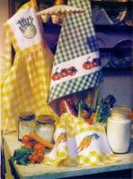 Gallery.ru / Фото #4 - Las Labores de Ana Extra 44 - tymannost Apron, Kitchen, Needlepoint, Pinafore Apron, Aprons