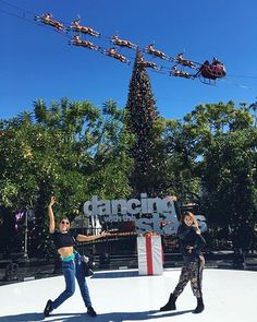We LOVE Christmas at the Grove @allisonholker @dancingabc Who's excited for the Finale next week?