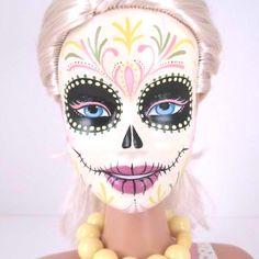 Dia de los Muertos Barbie!!!