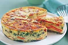 Zucchini And Sweet Potato Slice Recipe - Taste.com.au