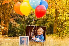 Shooting Star Photography: Balloons, Brothers, Chickens, and Leaves... makes for one exciting day!!! { Cache Valley Child, Family, Milestone Photographer}