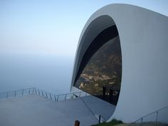 Oscar Niemeyer Auditorium in Ravello