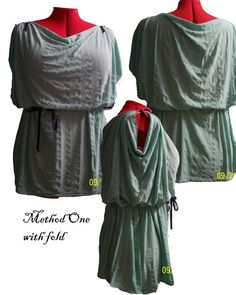 Extremely Easy Greek Chiton Babydoll (pic. heavy) *** Now with tutorial - CLOTHING