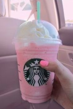 Strawberries & Cream Frappuccino @ Starbucks. Another all-time favorite.