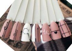 Trendy Nails, Cute Nails, Nail Manicure, Gel Nails, Kylie Nails, Nail Drawing, Glitter Accent Nails, Nail Art Photos, Pink Nail Art