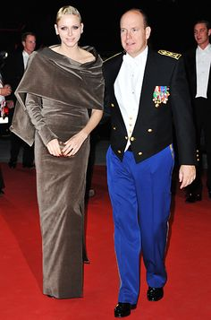 Prince Albert II and Princess Charlene, in custom Akris, at Monaco National Day Gala concert at Grimaldi Forum Andrea Casiraghi, Charlotte Casiraghi, Grace Kelly, Kelly Monaco, Monaco Princess, My Princess, Beatrice Borromeo, Prince Albert, Charlize Theron Style