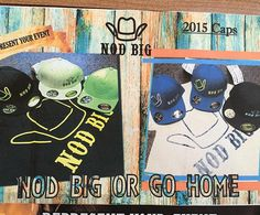 """""""Start the new year 2016 with a new cap from Nod Big Apparel LLC. Visit www.nodbig.com to start your new year off with a new cap ! @nodbig @jennijackson50…"""""""