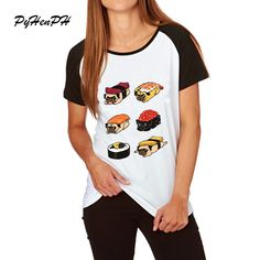 Like and Share if you want this  Harajuku New womens t shirt Pug Sushi printed tshirts women/girl summer Ringer / Raglan casual tee tops clothing     Tag a friend who would love this!     FREE Shipping Worldwide     Get it here ---> http://ebonyemporium.com/products/harajuku-new-womens-t-shirt-pug-sushi-printed-tshirts-womengirl-summer-ringer-raglan-casual-tee-tops-clothing/    #dresses