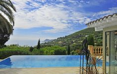 Visit Ramatuelle France today in this villa with its own infinity pool.