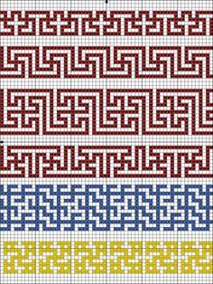 Filet Crochet, Crochet Chart, Crochet Stitches, Knit Crochet, Tapestry Crochet Patterns, Weaving Patterns, Mosaic Patterns, Blackwork Embroidery, Cross Stitch Embroidery