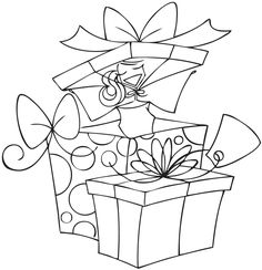 Stamping Bella - Unmounted Rubber Stamp - All-Boxed-Up-Abella