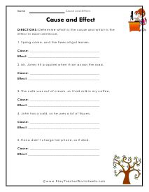 The concept of cause and effect strengthens one's reading comprehension skills. Teach your students to identify and use this concept quickly with our print and worksheets. Cause And Effect Worksheets, 5th Grade Teachers, Reading Comprehension Skills, Reading Worksheets, 5th Grades, School Ideas, Language, Classroom, Concept