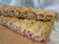 Hellena ...din bucataria mea...: Placinta cu carne - la cuptor Pastry And Bakery, Spanakopita, Food And Drink, Pie, Lunch, Ethnic Recipes, Desserts, Romanian Recipes, Cakes