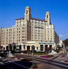 Be a guest at the beautiful Arlington (Art Deco Hotel), Hot Springs Arkansas ~ CHECK (The best Sunday Brunch ever!)