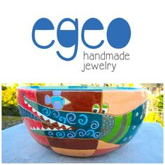 #ceramicbowl with #crocodile by Egeo not only Handmade Jewelry!!! Emoticon smile