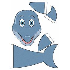 Dolfijn zelf maken knutselpakket / Sinterklaas surprise. Compleet basis bouwpakket om een dolfijn te kunnen maken zoals op de afbeelding. Dit pakket bestaat uit de basismaterialen en instructies die u nodig heeft om een dolfijn te knutselen van ongeveer 41 x 16 x 35 cm. Daarna kunt u de surpise naar eigen wens versieren en personaliseren. Extra nodig: - Lijm - Schaar - Plakband / tape Ruimte voor kado: In het doosje is een ruimte van ongeveer 35 x 24 x 12 cm.