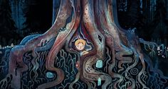 (21) Tumblr The Secret Of Kells, The Light Between Oceans, The Hallow, Song Of The Sea, Sea Illustration, Free Tv Shows, Environment Concept Art, Environment Design, All Nature