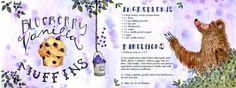 Blueberry Vanilla Muffin Recipe by Jessyca Scarpone