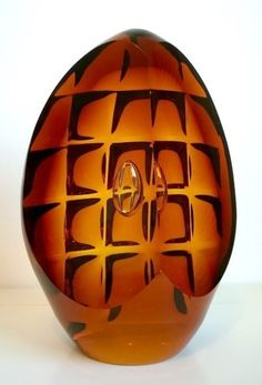 Striking Art Glass sculptures from leading glass artists