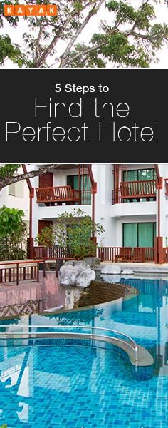 Take these steps to find your perfect hotel, in the area you want to stay, with a complete understanding of your total costs.