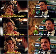 Can we get more Olicity loft scenes! I did not want this scene to end. Arrow Cast, Arrow Tv, Arrow Quote, The Cw Shows, Dc Tv Shows, Supergirl Dc, Supergirl And Flash, The Flash, Arrow Oliver And Felicity