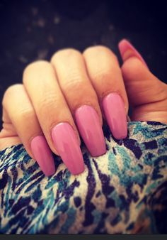 Pink nails for Easters lol