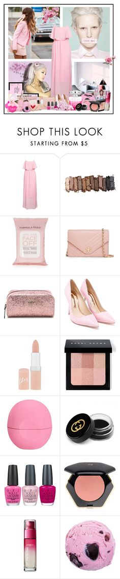 """Bez naslova #60"" by alisijaa ❤ liked on Polyvore featuring Rut&Circle, Urban Decay, Jimmy Choo, Topshop, Tory Burch, Kate Spade, Sophia Webster, Rimmel, Bobbi Brown Cosmetics and Eos"