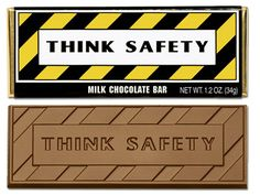 Think Safety Chocolate Wrapper Bar